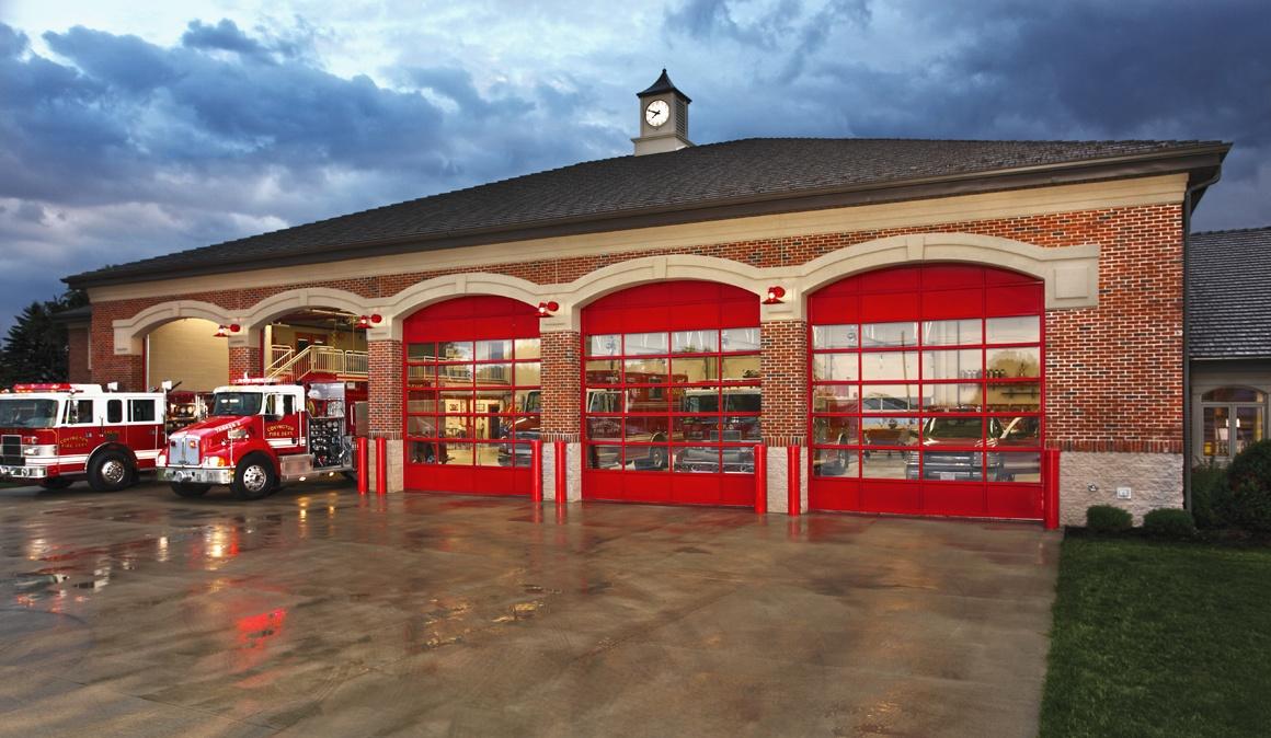 firehouse garage door installation in Oregon City