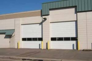 large garage doors for business