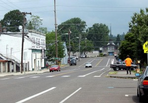 view of town of Oak Grove, Oregon
