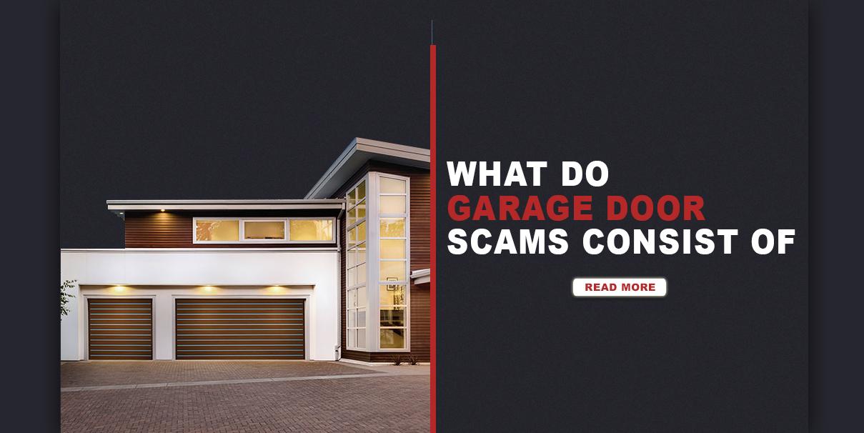 How To Detect Garage Door Scams Oregon City Garage Door
