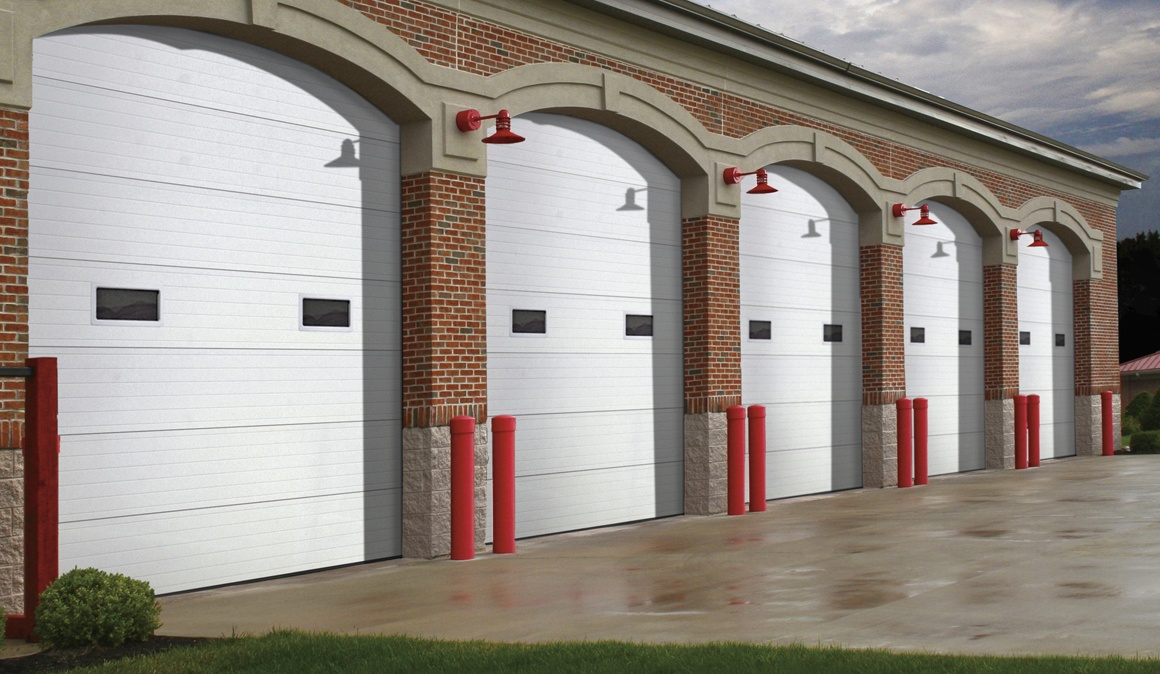 large commercial garage doors