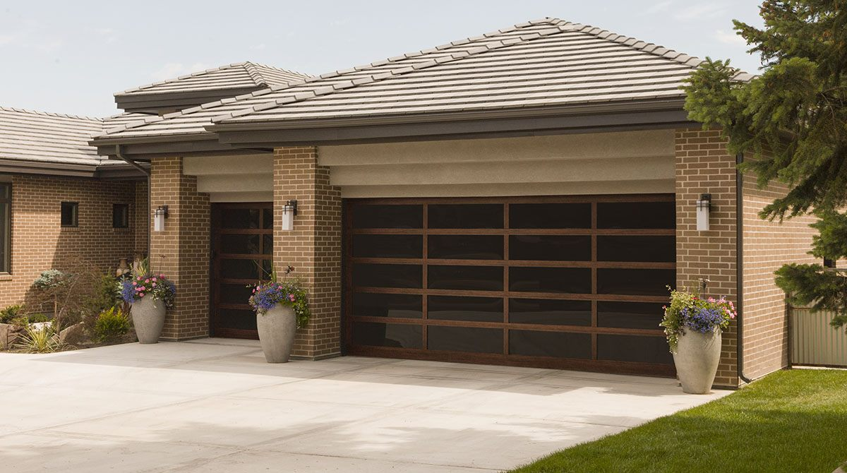 glass garage door installation