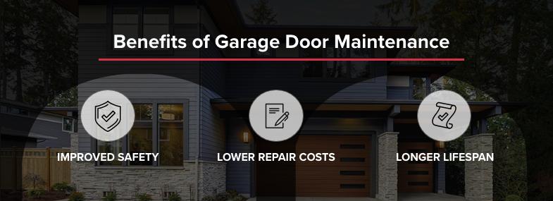benefits of garage door maintenance